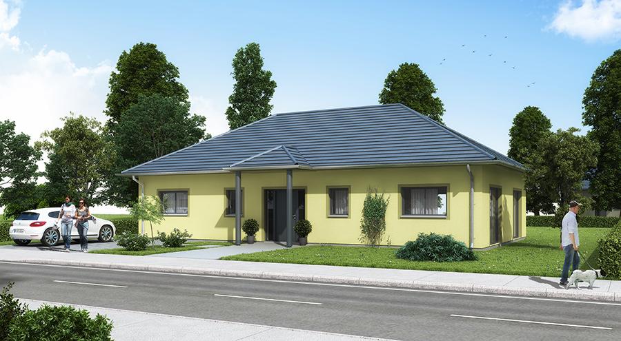 bungalow b105 ibs haus. Black Bedroom Furniture Sets. Home Design Ideas
